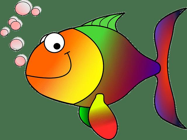 Рыбкам диету мотылёвую прописали